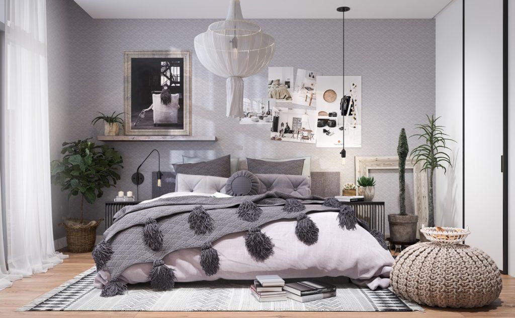 居心地の良いベッドルームのアイデア